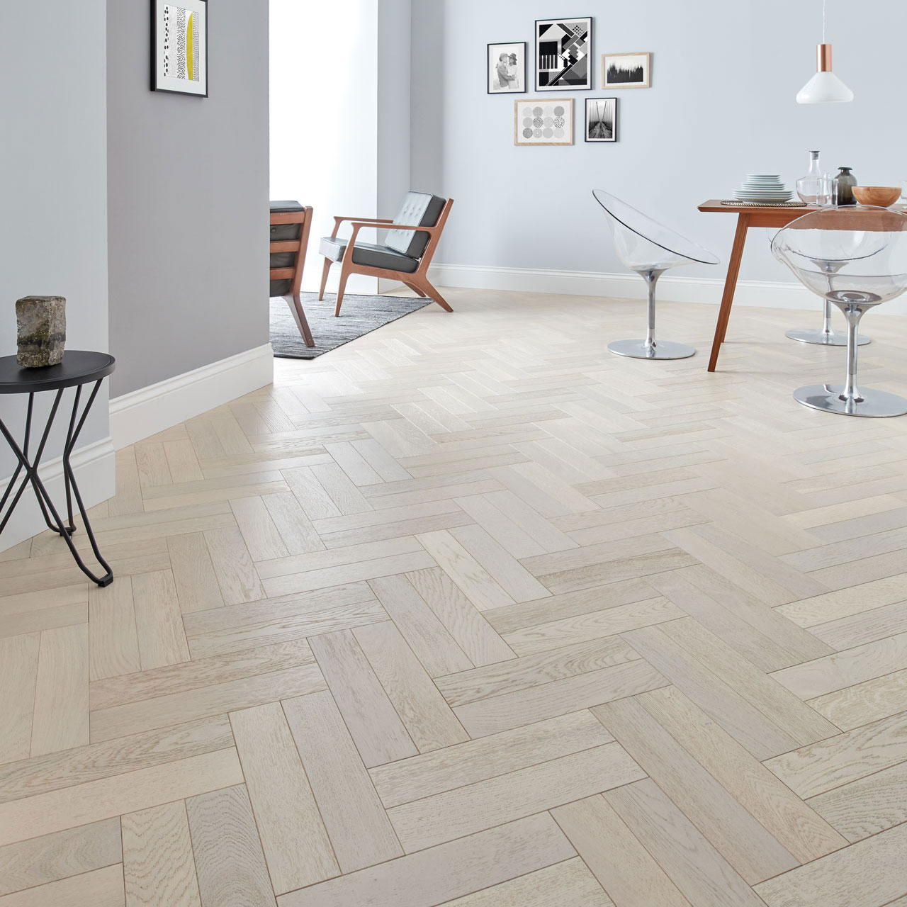 Create an Interesting Angle With Vinyl Flooring